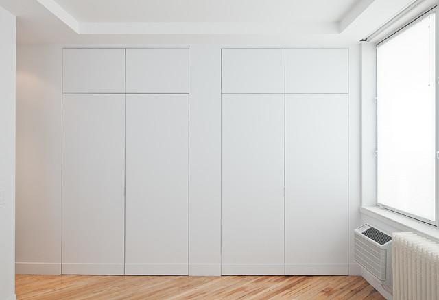 Manhattan Loft contemporary-closet
