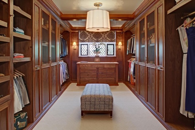 Mansion In May 2012 Traditional Closet New York By