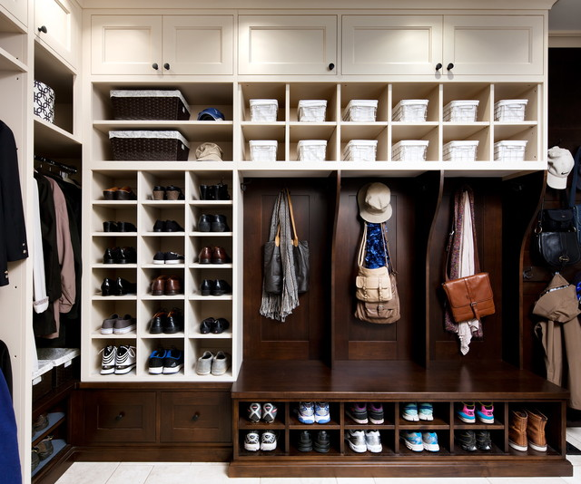 Elegant Inspiration For A Timeless Closet Remodel In Toronto With White Cabinets