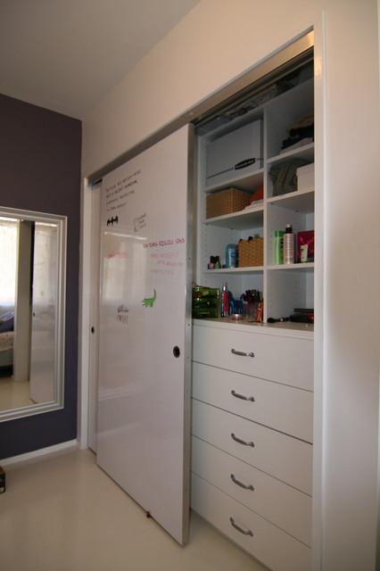 Markerboard Closet doors modern-closet & Markerboard Closet doors - Modern - Closet - Baltimore - by place ...