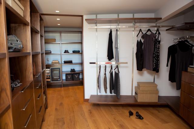 Martin Lane modern-closet