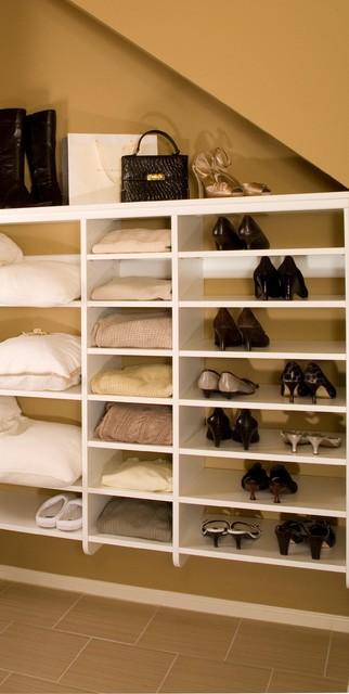 Master Bathroom & Closet contemporary-closet