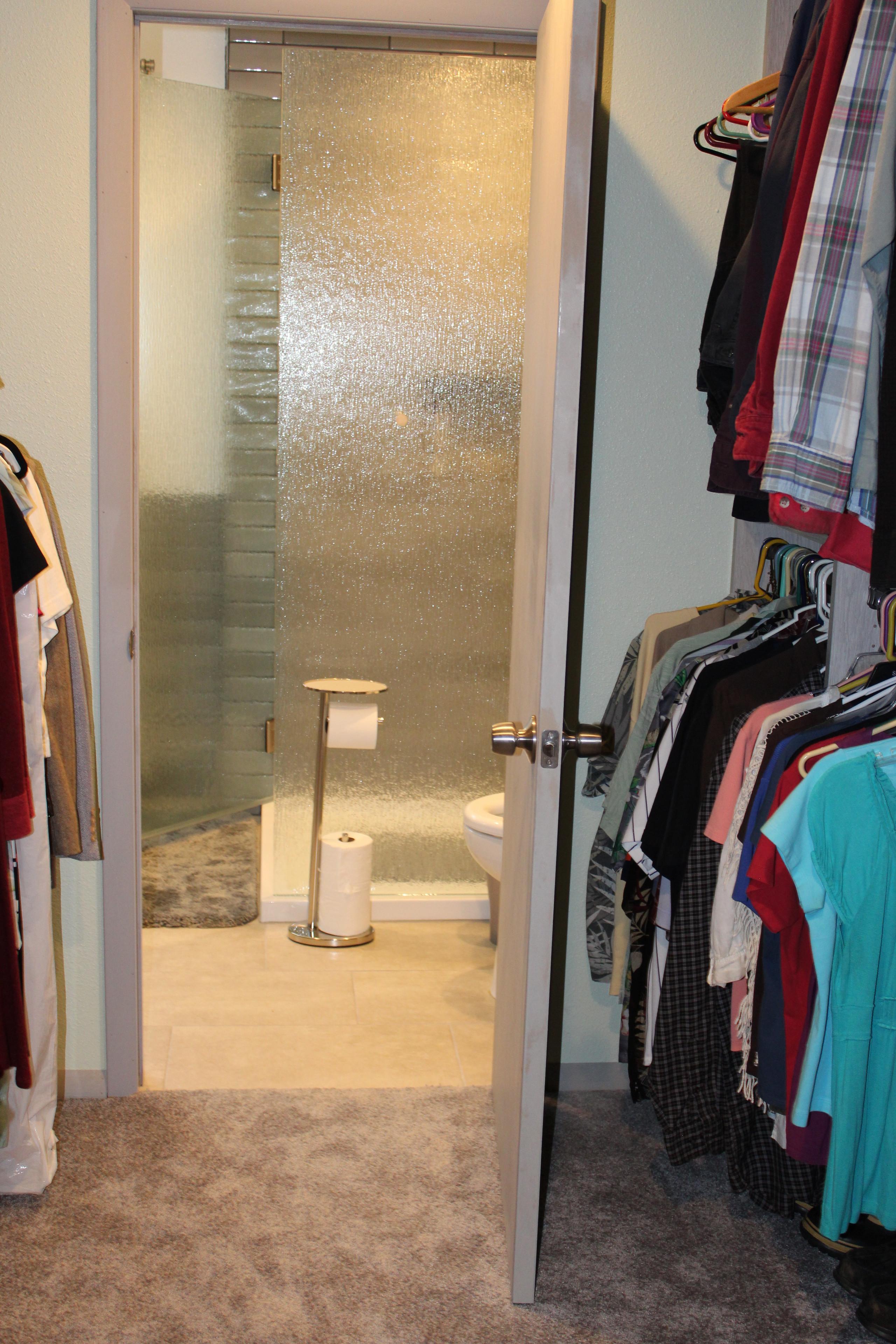 Master bathroom/bedroom remodel