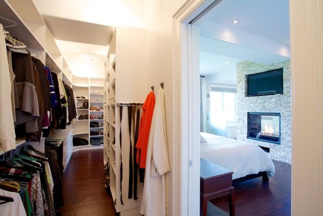 Master Bedroom & Ensuite contemporary-closet