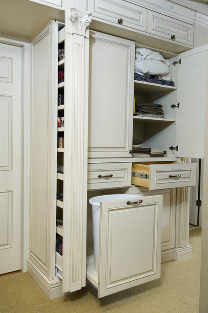 Master Bedroom Cabinetry traditional-closet