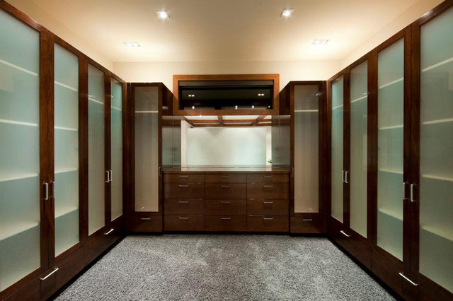 Delightful Master Bedroom Closet Contemporary Closet