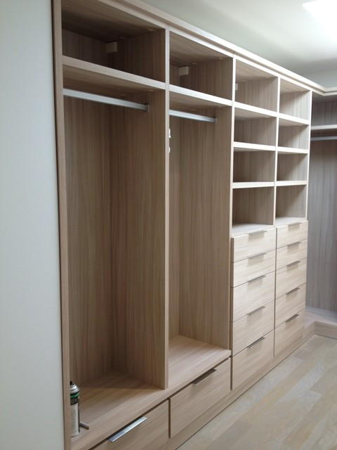 Master Bedroom Closet master bedroom closets - modern - closet - san francisco -