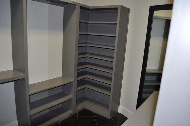 Master closet traditional-closet