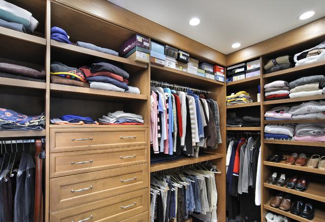 Modern Master Closets master closet - modern - closet - miami -angie keyes ckd