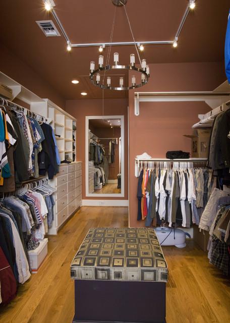 Master Closet eclectic-closet