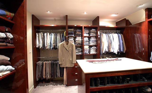 Master Closet -contemporary Style contemporary-closet