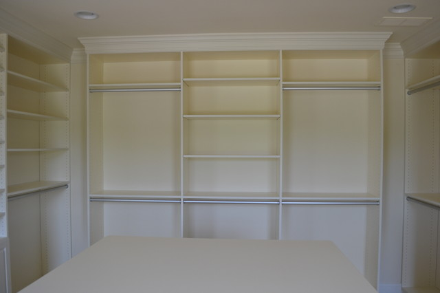 Charmant Master Closet, Floor To Ceiling Units Traditional Closet