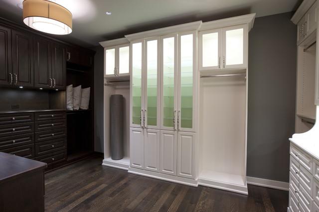 Master Closet contemporary-closet