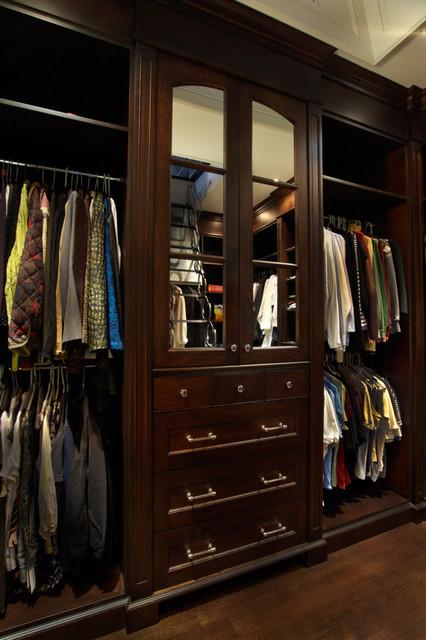 Master Closet organized traditional-closet