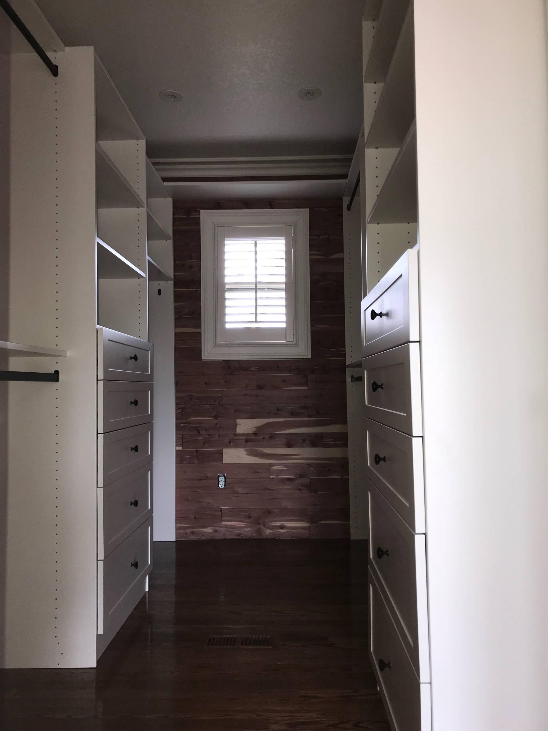Master Closet, Vanity Cabinet & Linen Closet - Columbus NC