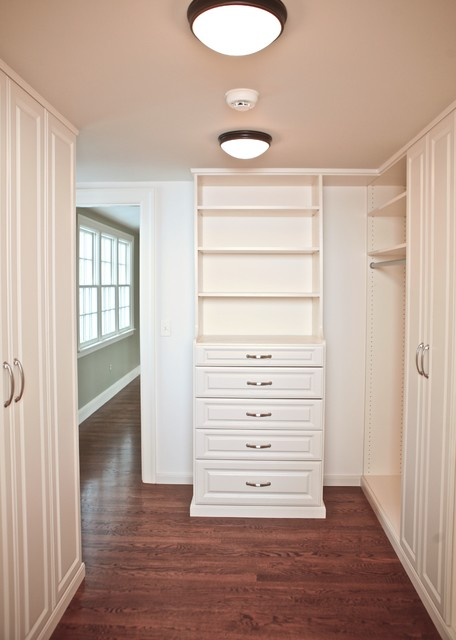 Master Closet walk through traditional-closet