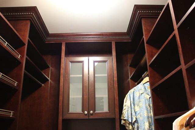 Master Closets for Him traditional-closet