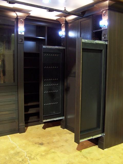Master Dressing Room Walk-In Closet modern-closet