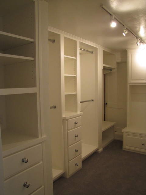 Master Suite Remodel Houzz #1 traditional-closet