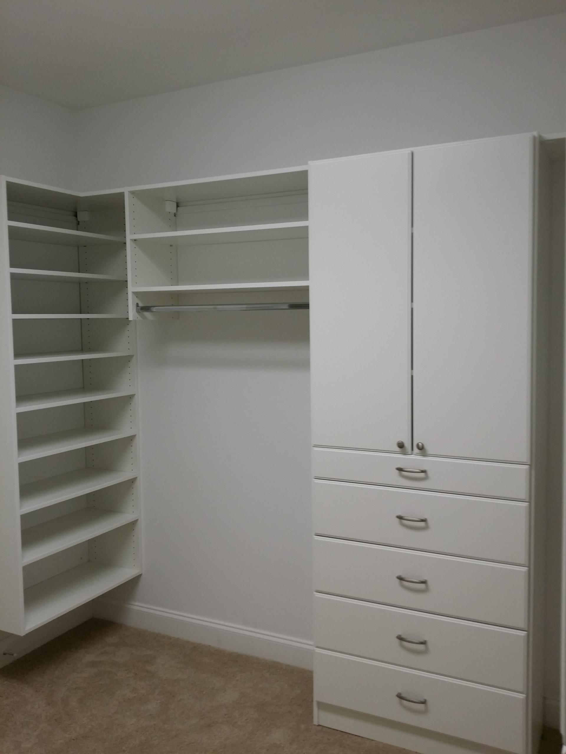 Master Walk-In Closet in Gaffney, SC
