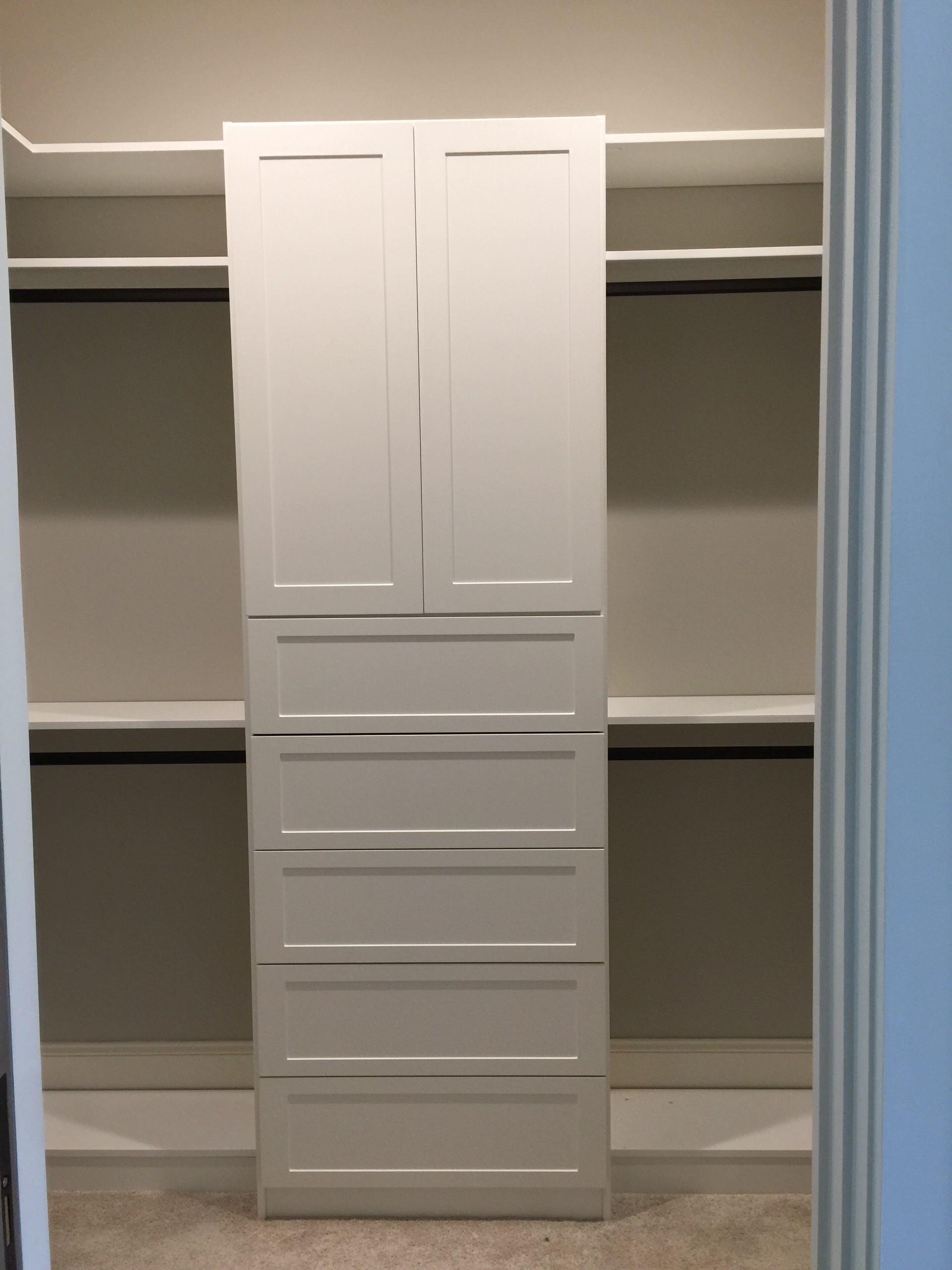 Master Walk-in Closet in Highlands, NC