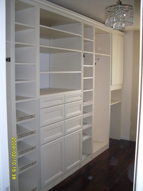 Master Walk-in Closet traditional closet