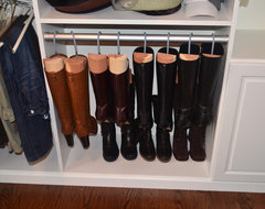 Master Walk-in traditional-closet