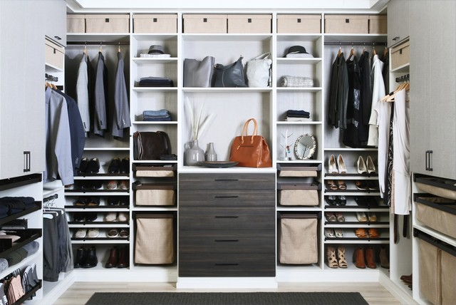 Master Walk-in Organization contemporary-closet