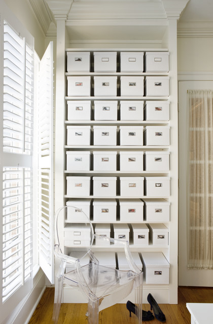 McLean Glamour transitional-closet