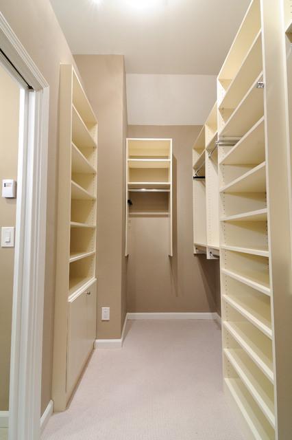 Melamine Closet traditional-closet