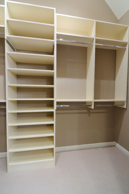 Melamine Closet Traditional Atlanta Home Design Amp Construction Resources
