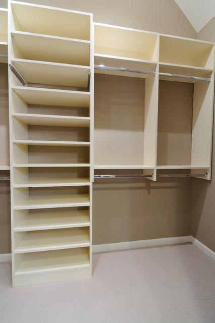 melamine closet shelves 1