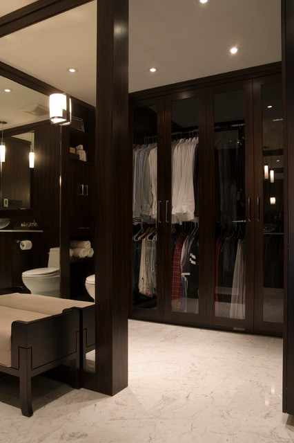 Mens dressing room bath contemporary closet other for Dressing room interior