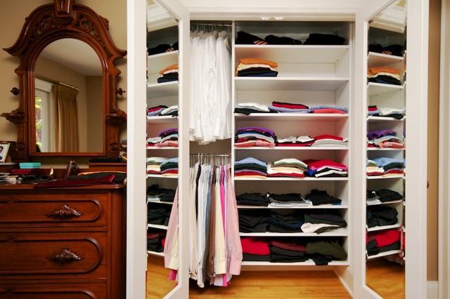 Michael's traditional-closet