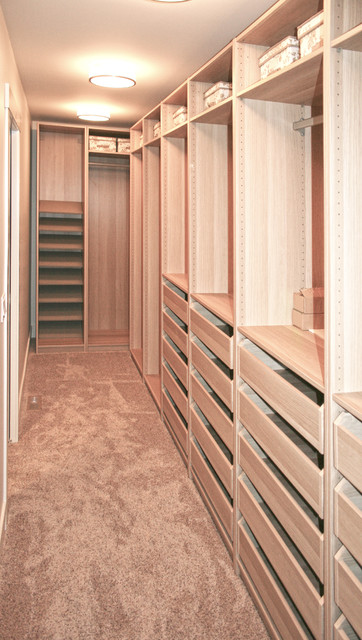 Mid-Century Bungalow transitional-closet