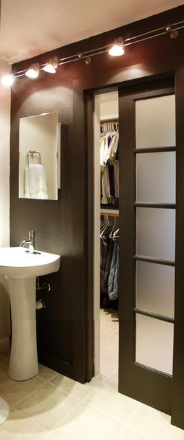 Midcentury Home Closet modern-closet
