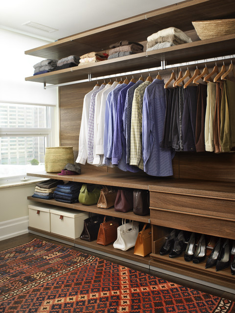 Modern Closet contemporary-closet