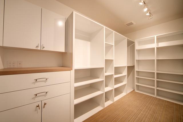 Fairview Residence modern-closet
