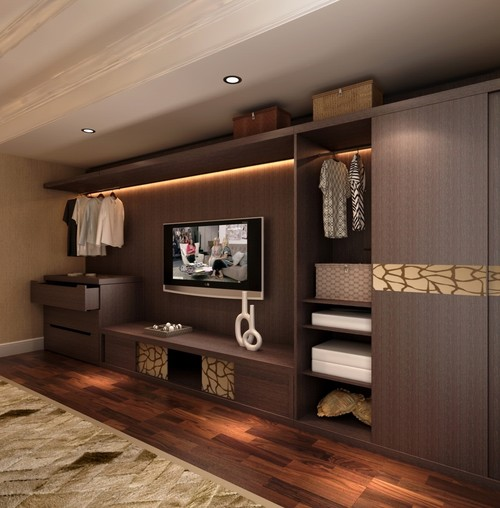 Will you consider this open concept Wardrobe instead of regular closet ?