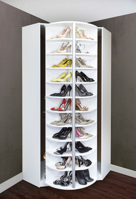 The Woman's Dream - Closet Organizer - Revolve 360 degree - Modern - Closet - miami - by Logical ...