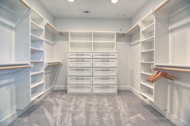 Modern/ Contemporary Home - Contemporary - Closet - houston - by Built Green Custom Homes