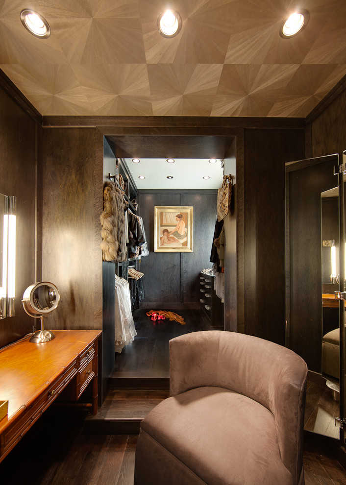 Inspiration for a contemporary dressing room remodel in Albuquerque