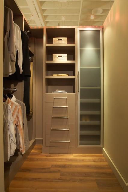 Modern Luxe Closet contemporary-closet