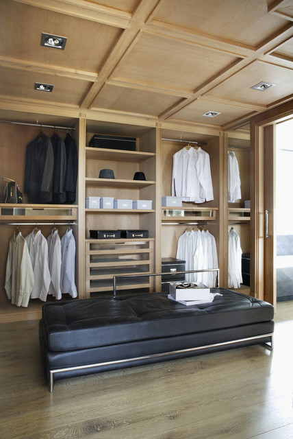 Modern Mediterranean House - Contemporary - Closet - other metro - by ...