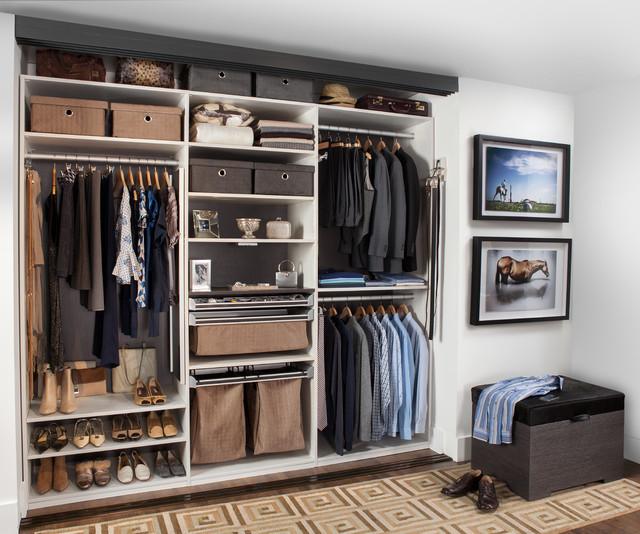 Modern Manhattan Reach-In Closet, Flatiron District Manhattan, NY modern-closet
