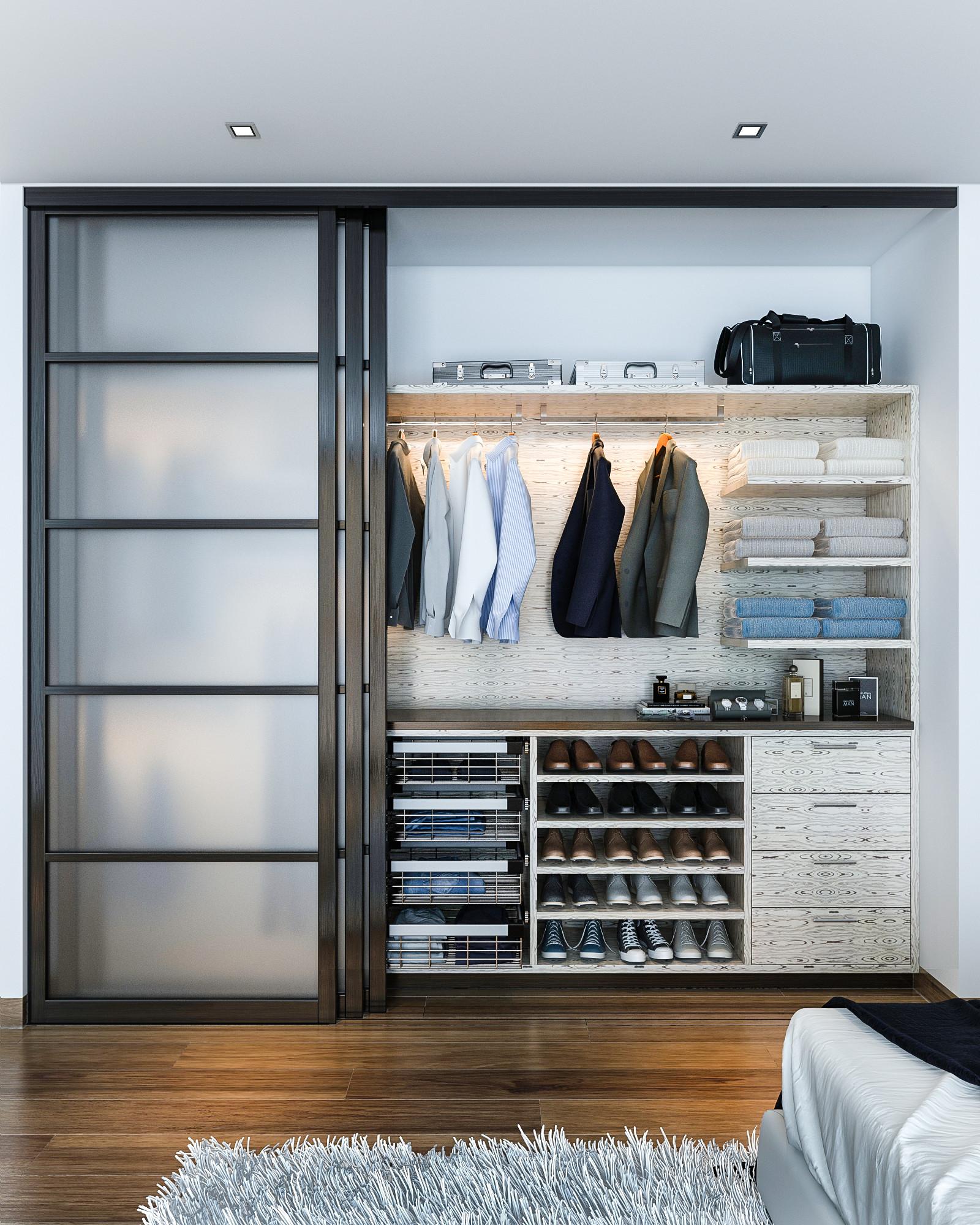 75 Beautiful Modern Closet Pictures Ideas March 2021 Houzz