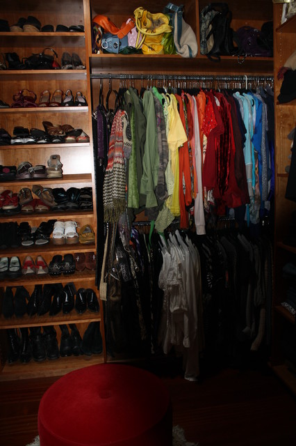 Montgomery Residence contemporary-closet