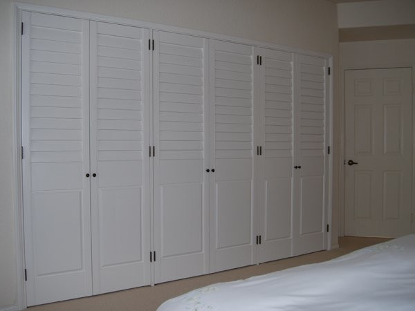 More Custom Closet Doors Traditional Wardrobe San