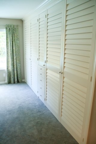 More Custom Closet Doors - Traditional - Closet - San Diego - by French Brothers Custom Shutters