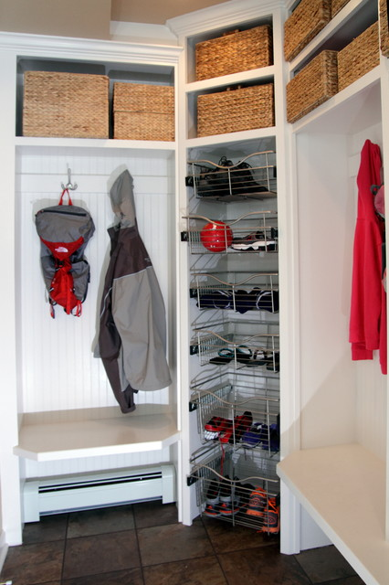 Mud Room Addition Traditional Closet Milwaukee By